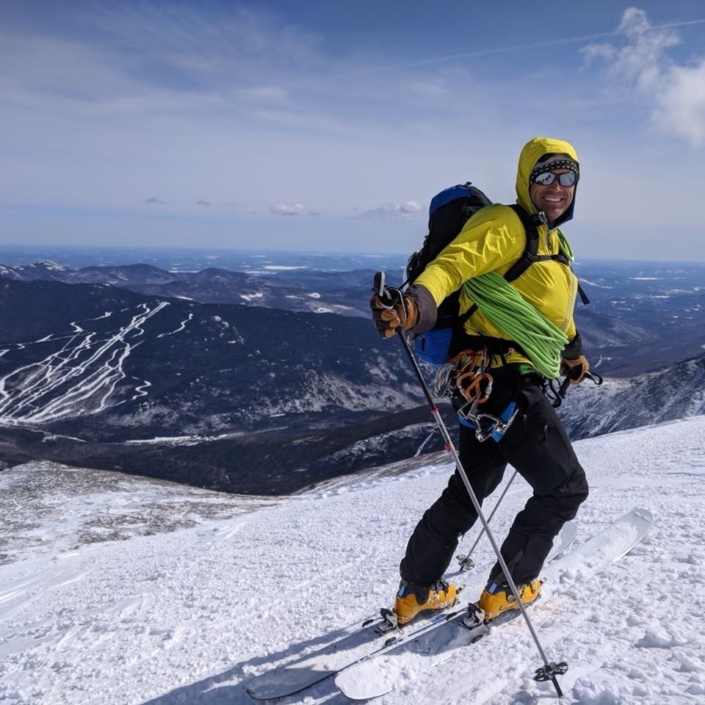 Ski-mo Mt. Washington, NH